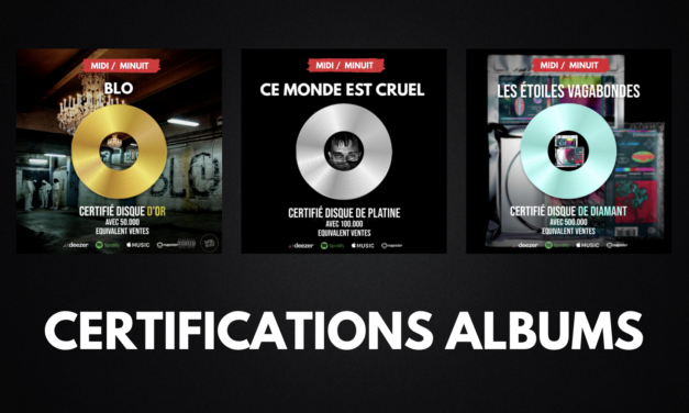 Certifications albums