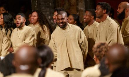 Kanye West, un Sunday Service à Paris