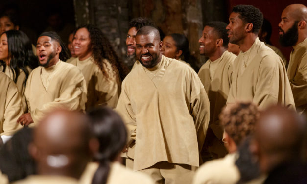 Kanye West, un Sunday Service à Paris