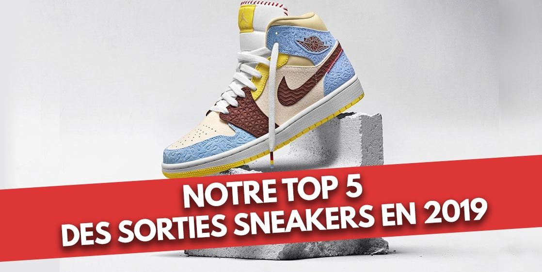 Notre TOP 5 des sorties sneakers en 2019