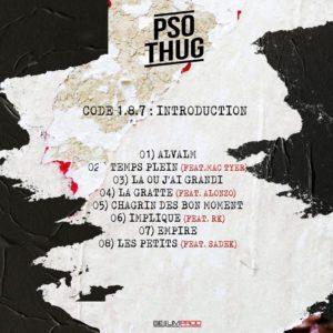 PSO Thug - Tracklist